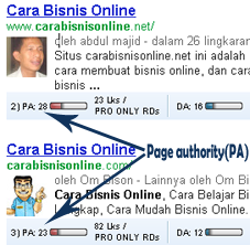cara meningkatkan nilai page authority halaman blog