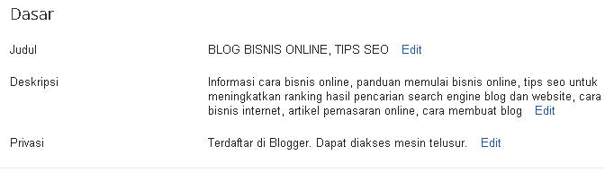 deskripsi blog blogspot