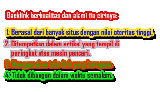 penjelasan tentang backlink
