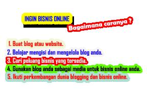 ingin bisnis online