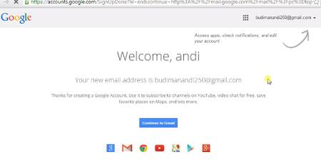 gambar akun google cara membuat email gmail