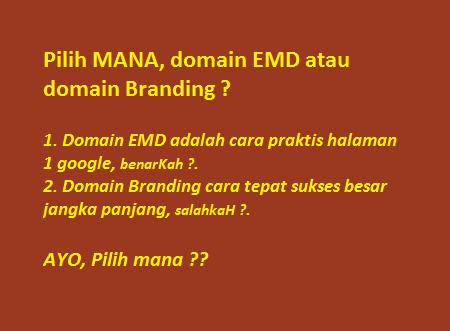 cara memilih nama domain yang baik
