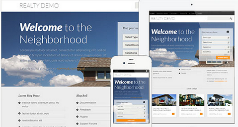 theme wordpress untuk listing property