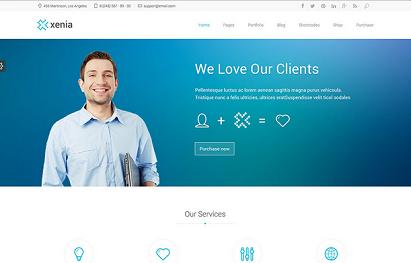 theme wordpress marketing portofolio