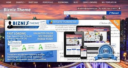 jasa pembuatan website perusahaan company profil