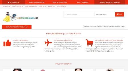 desain website e-commerce